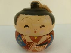 : Mid Century Vintage Japanese Geisha Kokeshi