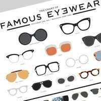 The Chart Of Famous Eyewear - $27
