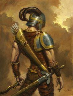 The Mercenary by ~alanlathwell on deviantART