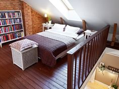 option for the weird room with low ceilings!