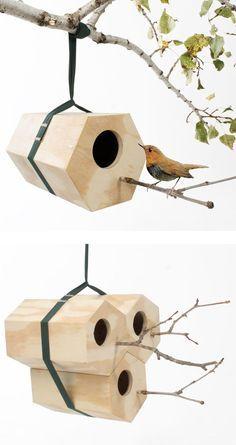 rugged life Hexagon Modular Birdhouse - rugged life