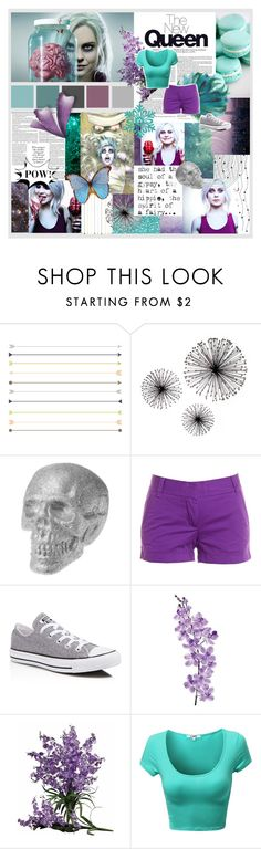 """""""but... I'm a ZOMBIE"""" by mars-phoenix ❤ liked on Polyvore featuring J.Crew, Converse, Laura Cole, Nearly Natural, cw, RoseMcIver and izombie"""