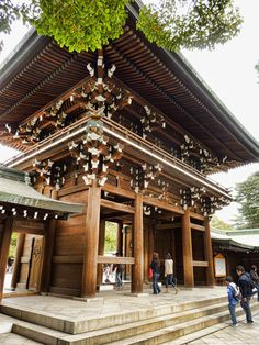 Meiji Shrine north gate | 2 Aussie Travellers