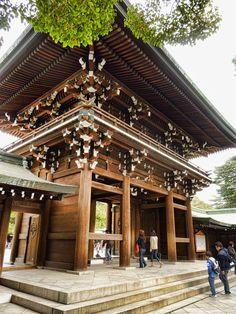 Meiji Shrine north gate | 2 Aussie Travellers