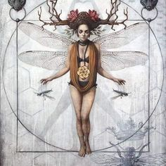 Dark Fantasy Art, Dark Art, Illustrations, Illustration Art, Magic Realism, Divine Feminine, Pretty Art, Magazine Art, Art Studios