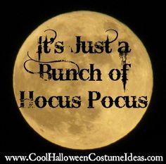 It's just a bunch of hocus pocus! http://www.coolhalloweencostumeideas.com
