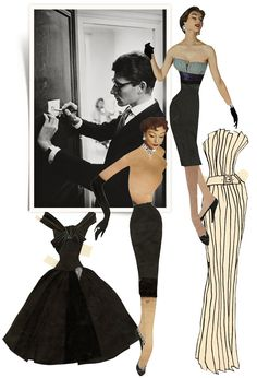 Yves Saint Laurent s paper doll archives 4b6c4ab7e81