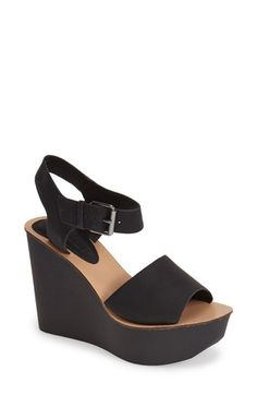Free shipping and returns on Topshop Platform Wedge Sandal (Women) at Nordstrom.com. Add a retro twist to any ensemble with a standout two-strap sandal set on a bold platform wedge.