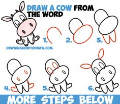 46 Best Cow Drawing Easy Images Painting On Fabric Farmhouse