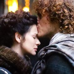 """""""Come back to me, James Fraser""""-- Claire's plea/command to Jamie in Episode 110.  #Outlander"""