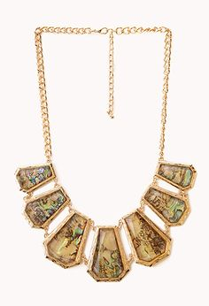 Whimsical Faux Stone Necklace | FOREVER21 - 1000064364