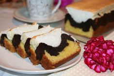 Homemade Sweets, Quick Bread, Dessert Recipes, Desserts, Cheesecake, Food And Drink, Pudding, Cooking, Breakfast