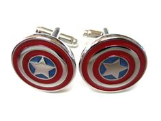 Superhero Cufflinks Buy 7 Pairs & SAVE Superhero Wedding - Goomsmen Gifts - Wedding Party Bat Man - Spider Man - Captain America - Superman