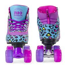 Rio Roller Purple Leopard Print Roller Skates at Lucky Skates