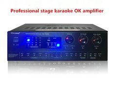>> Click to Buy << KA-7200U 600W+600W 2SC5200 Professional stage karaoke OK amplifier Family k song KTV dedicated card amplifier #Affiliate