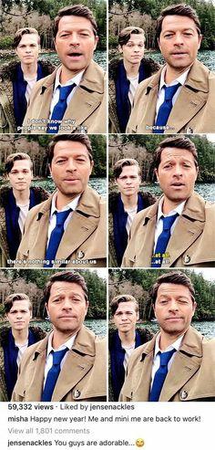 Supernatural - Misha's Instagram