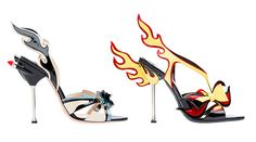 With details inspired by classic American cars, Prada has created some unexpectedly stunning shoes!