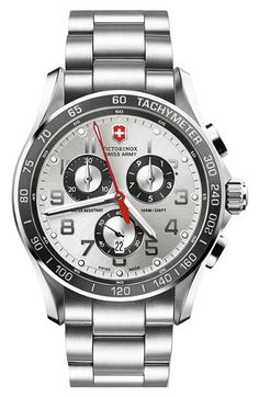 Victorinox Swiss Army® 'Chrono Classic XLS' Bracelet Watch available at #Nordstrom