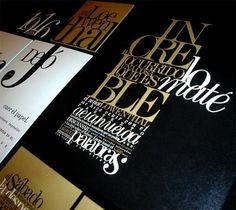 Graphic Statement: Typography: Watafak