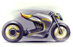 Summer Sketches by Samuel Thetard, via Behance