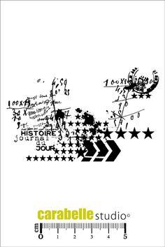 Acheter tampon SCRAP - Journal du jour - CARABELLE STUDIO