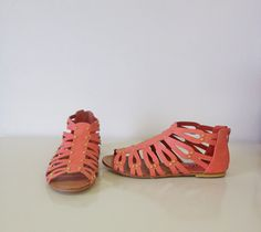 Study Abroad Sandals (Coral)