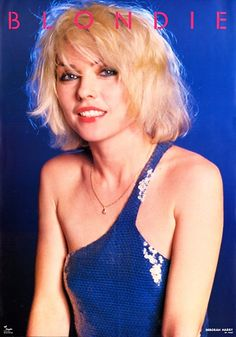 Disco hair. Debbie Harry exclusive 1980 poster by vintageisclassic, via Flickr