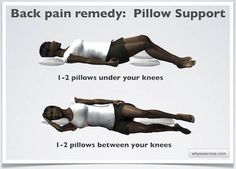 1000 images about how to sleep with lower back pain on