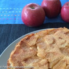 This is the best Russian Apple Cake recipe. It's light, fluffy, moist and delicious. Not an apple pie, but a cake sprinkled with cinnamon sugar - Rita's Sharlotka Apple Cake (Шарлотка) Russian Apple Cake Recipe, Apple Cake Recipes, Russian Recipes, Baking Recipes, Easy Desserts, Delicious Desserts, Dessert Recipes, Yummy Food, Beignets