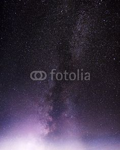 Wall Mural part of a night sky with stars and milky way - Photo Wallpaper • PIXERSIZE.com