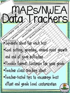 Worksheet Nwea Goal Setting Worksheet goal setting sheet settings and maps on pinterest does your district administer nweamaps tests these data trackers are kid friendly