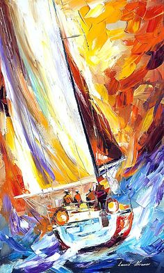 Leonid Afremov - Fight with the Wind