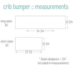 Whatever you decide, crib will be using this site. Its got measurements, fabric yardage and the how-to!! Easy as Pie!! crib bumper and skirt measurements and diy tutorial