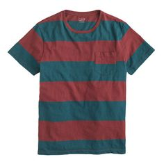 JCrew Surf-stripe tee. This is cute. A good way to add your own style.