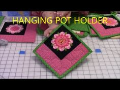 How to Make a Hanging Pot Holder - YouTube