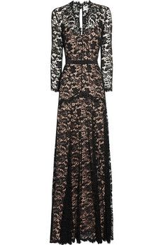 The gorgeous black lace Temperley Amoret dress.  Worn by Kate on two occasions:  the war horse premiere & the recent St Andrews dinner.
