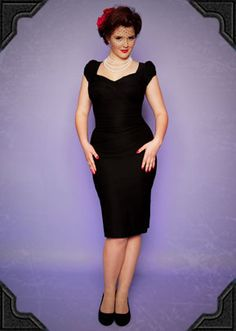 Is @Stop Staring!'s Billion Dollar Baby the ultimate 50's style wiggle dress? We think it just might be!    This stunning dress works wonders, sculpting your curves whatever your size.    Back in stock all sizes S-XXL