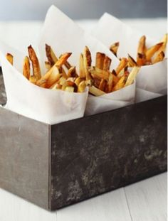 nice way to serve fries
