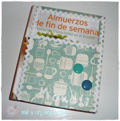 Libros de cocina #alterados #scrap Hand Made, Creativity, Cooking, Libros