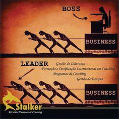 Entendemos que existe uma necessidade muito grande em sermos bons chefes aos olhos da empresa, mas aos olhos dos nossos colaboradores temos de ser ótimos líderes. Participe dos treinamentos oferecidos pela Stalker RH & Coaching.  Acessem nosso Site: www.stalkerrh.com.br
