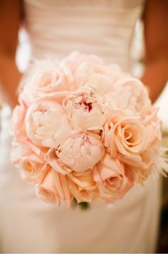 a bouquet of peonies!