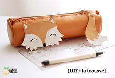 Madame Citron - DIY ; spécial rentrée des classes : la trousse kawaii fox