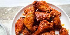 Πικάντικές φτερούγες κοτόπουλου