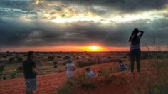 Me & my hubby were on Bagatelle Lodge. Sundowner with an amazing company.   Image: Janine Reichstein