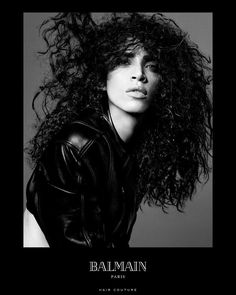 Supermodel Noémie Lenoir Talks Her Balmain Campaign—And the Secret to Her Brilliant Curls