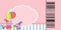 Peppa Pig: invitaciones para imprimir gratis. | Ideas y material gratis para fiestas y celebraciones Oh My Fiesta!