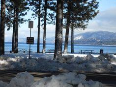 Lake Tahoe with Joe and RJ for Joe's niece's wedding. Beautiful!