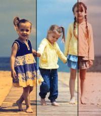 1 photo 3 effets