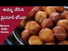 అమ్మ చేసిన మైసూర్ బోండా ఎవరు చేసిన బాగావస్తాయ్ మినపప్పుతో #Mysorebonda #... Indian Breakfast, Breakfast Items, Pretzel Bites, Chutney, Vegetables, Food, Vegetable Recipes, Eten, Chutneys