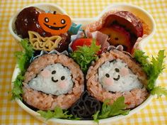 'Lil Ghost Sushi Rolls For Halloween | Washoku.Guide